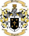 Westbyr Family Crest from England