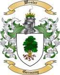 Wester Family Crest from Germany