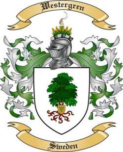 Westergren Family Crest from Germany