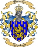 Westerhus Family Crest from Netherlands