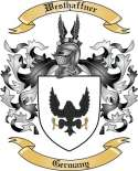 Westhaffner Family Crest from Germany