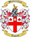 Westmoreland Family Crest from England