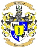 Westrup Family Crest from Germany