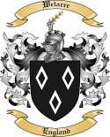 Wetacre Family Crest from England