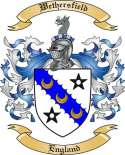 Wethersfield Family Crest from England