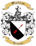 Weychaum Family Coat of Arms from Germany