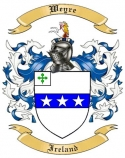 Weyre Family Coat of Arms from Ireland