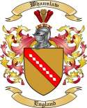 Whanslaw Family Crest from England