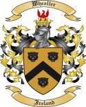 Whealler Family Coat of Arms from Ireland