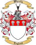 Wheatly Family Crest from England
