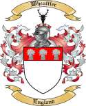 Wheattler Family Coat of Arms from England