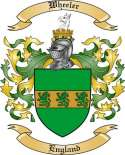 Wheeler Family Crest from England