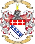 Whelan Family Crest from Ireland