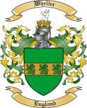 Wheller Family Coat of Arms from England