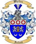 Whelton Family Coat of Arms from Ireland