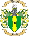 Wherrity Family Coat of Arms from Ireland