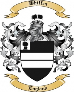 Whiffen Family Coat of Arms from England