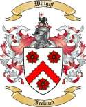 Whight Family Coat of Arms from Ireland