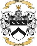 Whild Family Coat of Arms from England