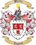 Whillis Family Crest from England2