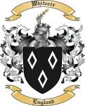 Whitacre Family Crest from England