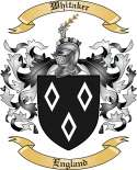 Whitaker Family Crest from England