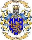 Whitbeck Family Crest from Holland