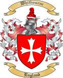 Whitbourne Family Coat of Arms from England