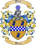 White Family Coat of Arms from Wales