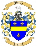 Whited Family Crest from England