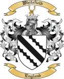 Whitefield Family Crest from England