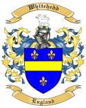 Whitehedd Family Crest from England