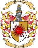 Whitehirst Family Crest from England