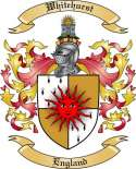 Whitehurst Family Coat of Arms from England