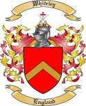 Whiteley Family Coat of Arms from England