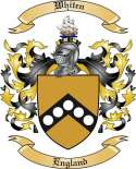 Whiten Family Coat of Arms from England