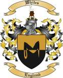 Whites Family Coat of Arms from England