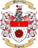 Whitesides Family Coat of Arms from England