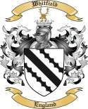 Whitfield Family Crest from England