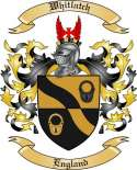 Whitlatch Family Crest from England