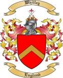 Whitley Family Coat of Arms from England