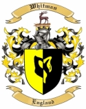 Whitman Family Crest from England