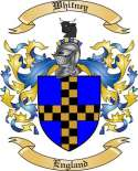 Whitney Family Coat of Arms from England