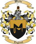 Whitte Family Crest from England