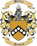 Whitton Family Crest from Scotland