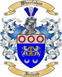 Whoolahan Family Crest from Ireland
