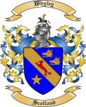 Whyley Family Crest from Scotland2