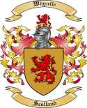 Whyntie Family Crest from Scotland