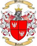 Wiatrek Family Crest from Poland