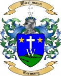 Wicchmann Family Crest from Germany